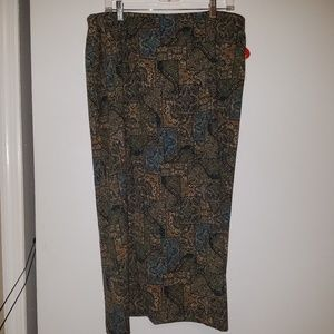 NWT Studio Works 16W Suede Feel Skirt